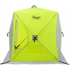 Палатка зимняя Куб 1,8х1,8 yellow lumi/gray (PR-ISC-180YLG) PREMIER
