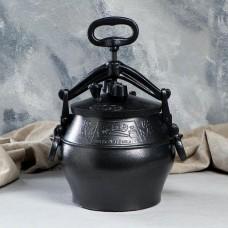 Афганский казан-сковороварка 10 л, одноцветный