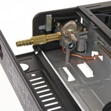 Плита газовая портативная (цанга, с переходником)  в чемодане