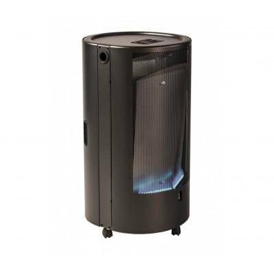 Обогреватель газовый каминного типа Blue Belle CHIC TM 4,2 кВт чёрный с термостатом