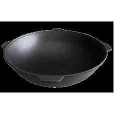Чугунный казан с алюминиевой крышкой 12 л Камская посуда
