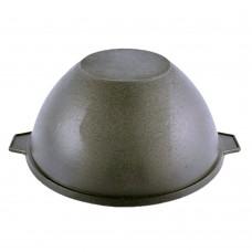 Казан чугунный 4 литра с алюминиевой крышкой