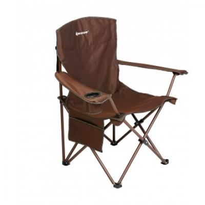 Кресло складное коричневый 140 кг (N-249-B) NISUS (пр-во ГК Тонар)