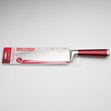 """Нож 20,3 см большой поварской Alpenkok """"Burgundy"""" с красной ручкой"""