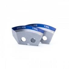 Ножи 130L полукруглые - мокрый лед левое вращение (NLH-130L.ML) HELIOS