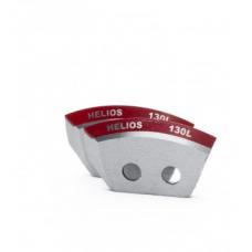 Ножи 130L полукруглые левое вращение (NLH-130L.SL) HELIOS