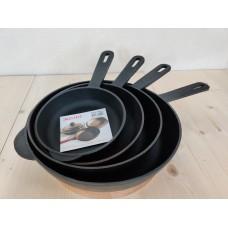 Сковорода чугунная (сотейник) 240х60 мм с литой ручкой