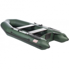 Лодка Капитан Т290 (киль+пол) зеленая/Boat Capitan 290SS (green)