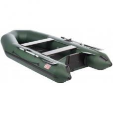 Лодка Капитан Т310 (киль+пол) зеленая/ Boat CAPITAN 310SS (keel, floorboards) green