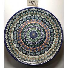 Ляган 42 см Риштанская керамика