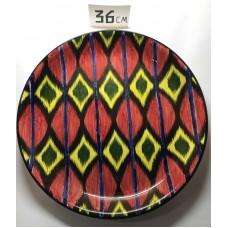Ляган 36 см Риштанская керамика