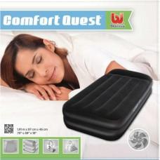 Односпальная кровать Premium Air Bed with Sidewinder 191х97х46 со встроенным насосом