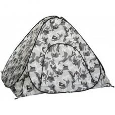 Палатка зимняя автомат 1,8*1,8 КМФ дно на молнии