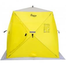 Палатка зимняя PIRAMIDA 2,0х2,0 yellow/gray PREMIER
