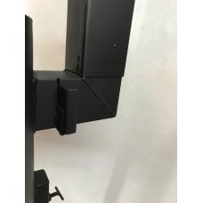 Печь под казан 2 мм 33 см с дверцей, трубой и регулятором тяги
