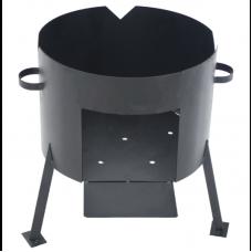 Печь под казан на 4-30 литров 2 мм