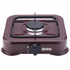 Газовая плита настольная 1-конфорочная ЯРОМИР ЯР-3011 темно-коричневая
