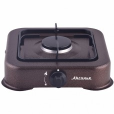 Газовая плита настольная 1-конфорочная АКСИНЬЯ КС-105 коричневая