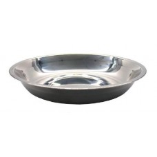 Тарелка 24 см, нерж. сталь