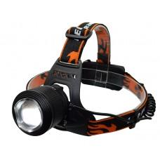 Налобный светодиодный фонарик HIGH POWER HEADLAMP-T6 2800-2/4 режима
