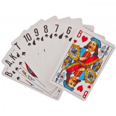 Карты игральные классические 36 карты бумага (138-002)