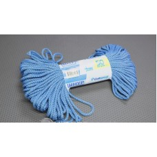 Шнур вязаный 4 мм, цветной, 50 метров