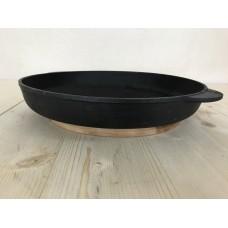Сковорода гриль круглая 30 см Эколит