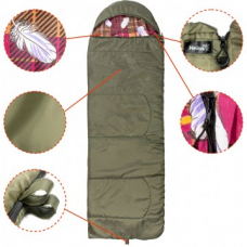 Спальный мешок батыр сок-4 до -12 гр холлофайбер