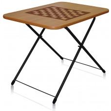 Туристический стол складной ТСТИ с шахматной сеткой