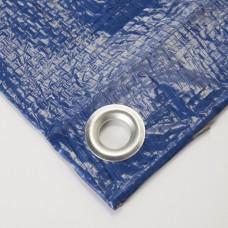 Тент с люверсами 70 гр/м, 2 х 3 м, синий