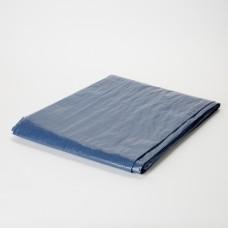 Тент с люверсами 70 гр/м, 4 х 5 м, синий