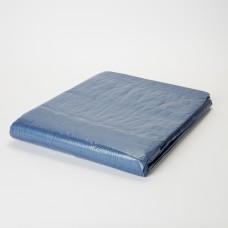 Тент с люверсами 70 гр/м, 5 х 8 м, синий
