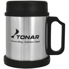 Термокружка 400ML с пл. крышкой и подставкой T.TK-004-400 Tonar
