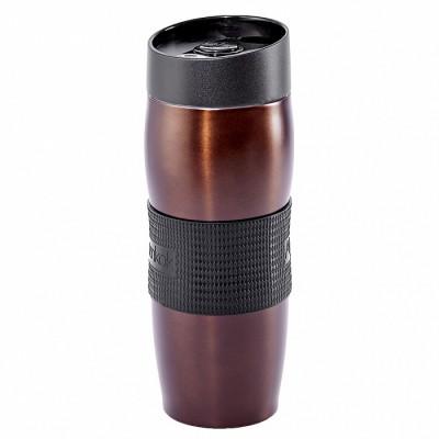 Термокружка вакуумная 400 мл Alpenkok AK-04002A коричневая