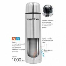 Термос 1 л WEВBER SS-1000P