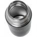 Термос (HS.TM-026) 1200ML черный (дополн.пласт.чашка) TONAR