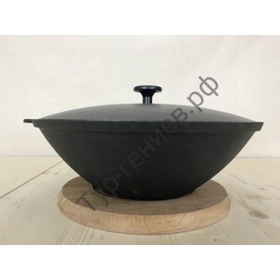 Сковорода WOK 3,5 л с алюминиевой крышкой